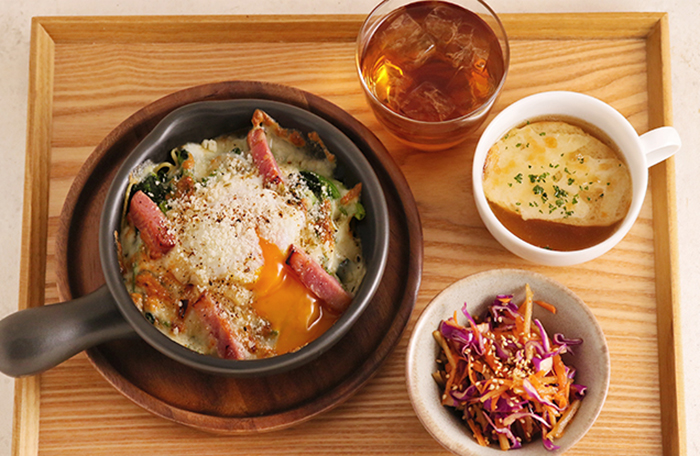 スープと小鉢のセット