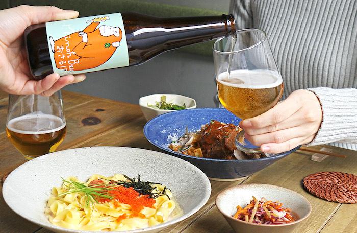 【福岡・天神店限定】こななより夜の新提案、お酒片手に愉しむ『恋味 和パスタ』が12/4より登場。